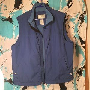 Vintage L.L. Bean Fleece Lined Vest